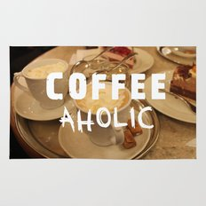 COFFEEaholic Rug