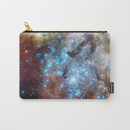 Bright nebula galaxy space and stars hipster star photograph geek cool geeky gift Carry-All Pouch