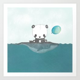 A Friendship of the Sea Art Print