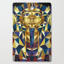 Golden Tutankhamun - Pharaoh's Mask Cutting Board