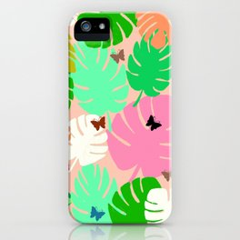 Tropical Heaven iPhone Case