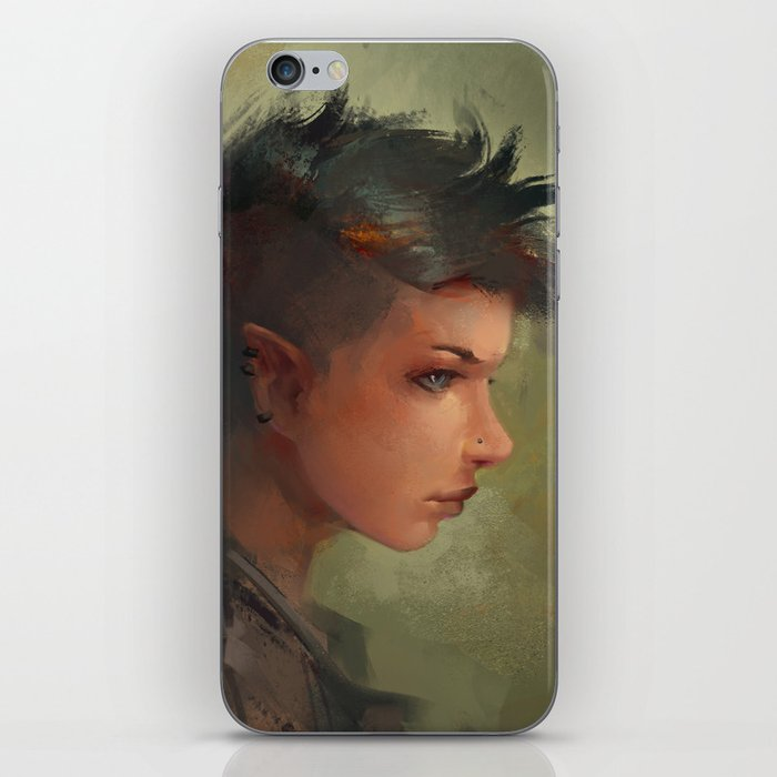 YOUNG REBEL iPhone Skin