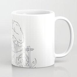 Sasquach BBQ Coffee Mug