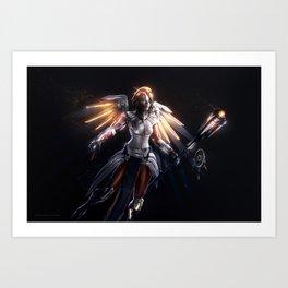 Mercy v1 Art Print