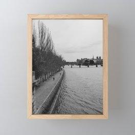 The Seine Framed Mini Art Print