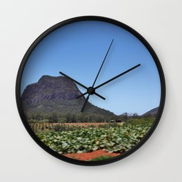 Mount Tibrogargan Wall Clock