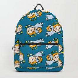 angel girl show a star Backpack