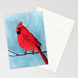 red looks good on me Stationery Cards