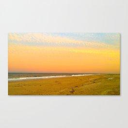 Mellow Sunset Canvas Print