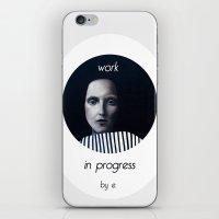 musa iPhone & iPod Skins featuring Work in progress by e. - MusA by Michela Ezekiela Riba