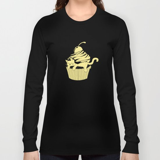 CatCake or CuteCat Long Sleeve T-shirt