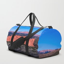 Pikes Peak - Sunrise Over Garden of the Gods in Colorado Springs Duffle Bag