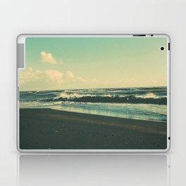 Dark Sand Beach Laptop & iPad Skin