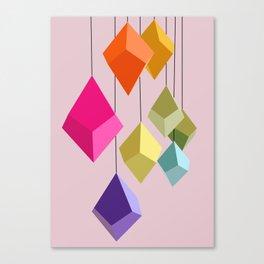 Hanging Ornaments Canvas Print