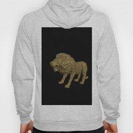 lion angry Hoody