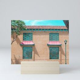 Travel photography Chinatown Los Angeles II Mini Art Print