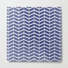 Digital Patterned Paper Metal Print