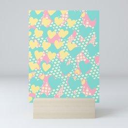 Smashed Pastel Icecreams Mini Art Print