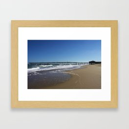 Pier at Nag's Head Framed Art Print