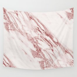 Marble Rosa Pallido, Pale Pink Wall Tapestry
