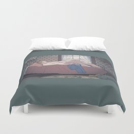 Solitude  Duvet Cover