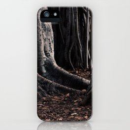 Spooky Winter Trees iPhone Case