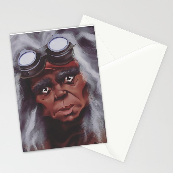 Old Lady Hackmore Stationery Cards