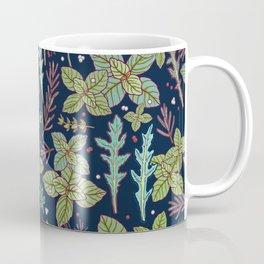 dark herbs pattern Coffee Mug
