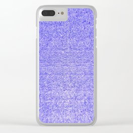 Turquoise Room Clear iPhone Case