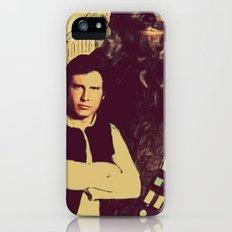 Chewbacca & Han Solo - American Gothic Slim Case iPhone (5, 5s)