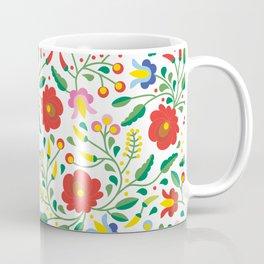 Hungarian Matyo Embroidery Coffee Mug