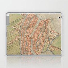 Vintage map of Amsterdam (1560) Laptop & iPad Skin