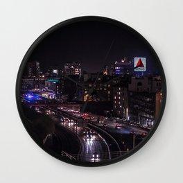 Boston Views Wall Clock