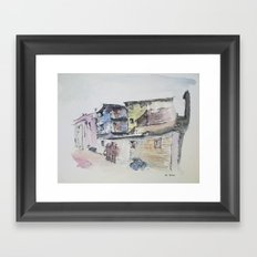 La Boca Framed Art Print