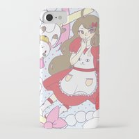 bee and puppycat iPhone & iPod Cases featuring Bee & puppycat ver 1 by Kurodoj