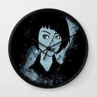 tron Wall Clocks featuring Tron - Quorra by Alifaun