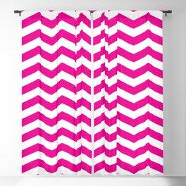 Pink Chevron Pattern Blackout Curtain