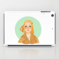 tenenbaum iPad Cases featuring Margot Tenenbaum by Galaxyspeaking