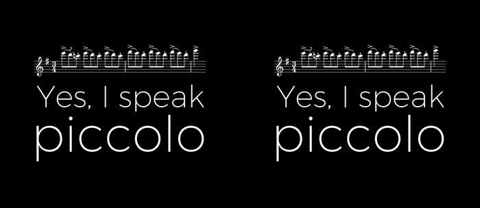 Yes, I speak piccolo Coffee Mug