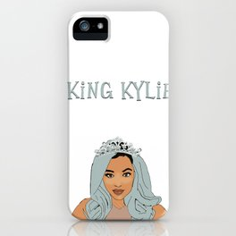 king kylie iPhone Case