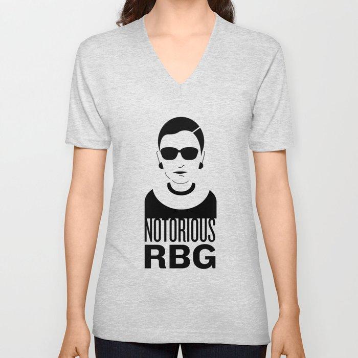 Notorious RBG Unisex V-Neck