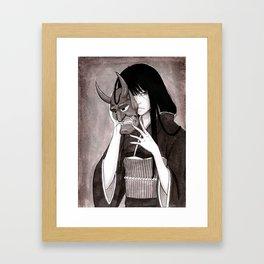 Hannyah Framed Art Print