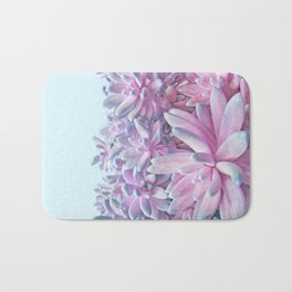 Sweet Succulents Bath Mat