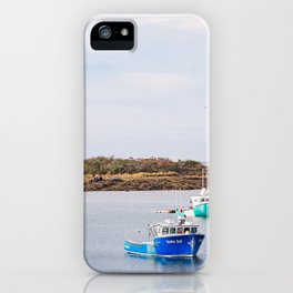 Coastal Maine Mornings II iPhone Case