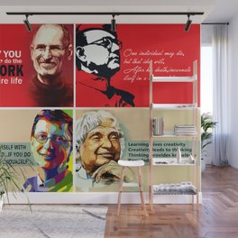 Famous Quote Wall Mural