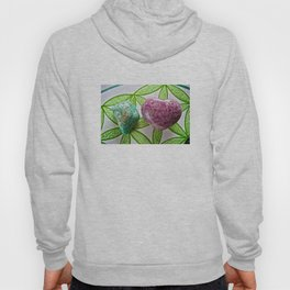 Amazonite and Lepidolite Vibrations - The Peace Collection Hoody