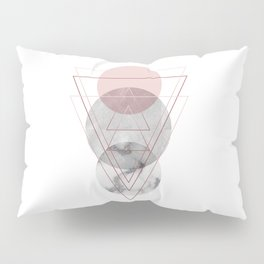 Visions Raspberry Frost Pillow Sham