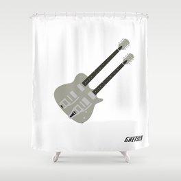 Gretsch Doubleneck ( G5566 ) Shower Curtain