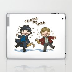 BBC Sherlock - Clueing for Looks Laptop & iPad Skin