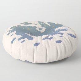 Lepus Constellation: Pastel Floor Pillow